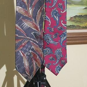 Vintage (1) Christian Dior tie bundle A42